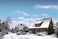 H�user im Winter