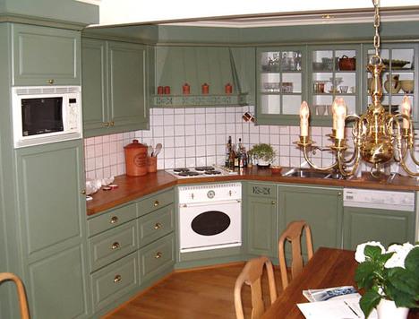 Male eller lakkere kjøkkenfronter