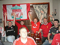 Liverbirds,Moss,Liverpool,supporterklubb,supportere