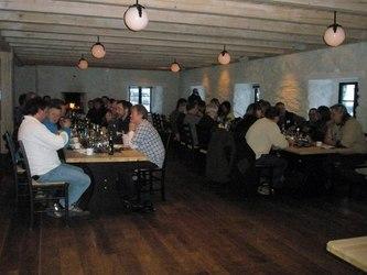 Middag i Bortistu gård i Storlidalen