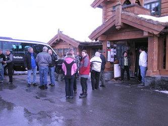 Lunsjstopp på Fagerhaug