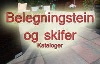 Kataloger for belegningstein og skifer