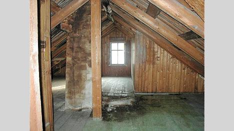 nytt bjelkelag i gammelt hus