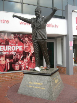 Bill Shankly,Liverpool,statue