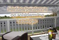 Her har vi samlet diverse kataloger for markiser, persienner og solskjerming.
