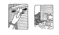 I en persienne kan lamellene innstilles trinnløst fra helt lukket til helt åpent. Det er det som gjør persienner så suverent gode til sol- og lysregulering, men når persiennen er helt åpen, kan støv ifølge sagens natur legge seg på de vannrette l