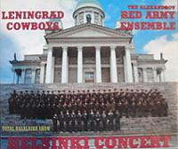 Total Balalaika Show,Helsinki,Finland,Red Army Ensemble,Leningrad Cowboys