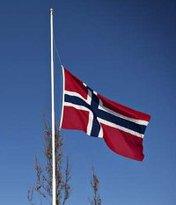 Flagg på halv stang