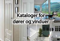Her har vi samlet diverse kataloger fra produsenter og leverandører av dører og vinduer.