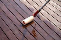 Terrasserens er et kraftig alkalisk rengjøringsmiddel. Vær derfor nøye med å velge rull som tåler påkjenningen.
