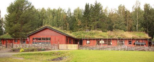 Marihøna Montessori barnehage fra utsiden.