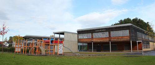 Fagerlund skole fra utsiden.
