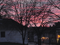 Fredrikstad fortress,Fredrikstad festning, in Fredrikstad, Norway,sunset