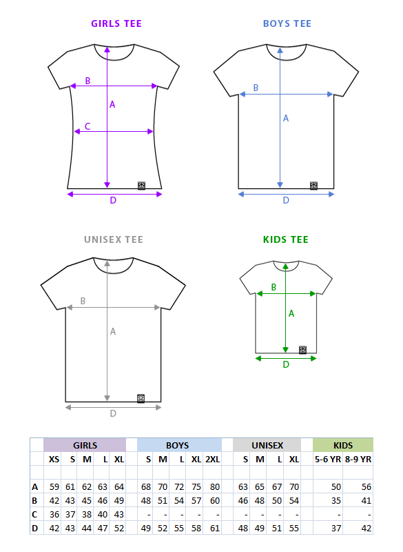 Shirt Size Chart Cm To Inches - Cashmere Sweater England