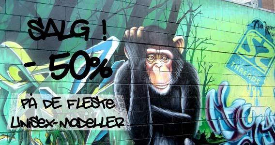 Salg 50 prosent avslag