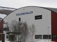 Kvalsundhallen, front