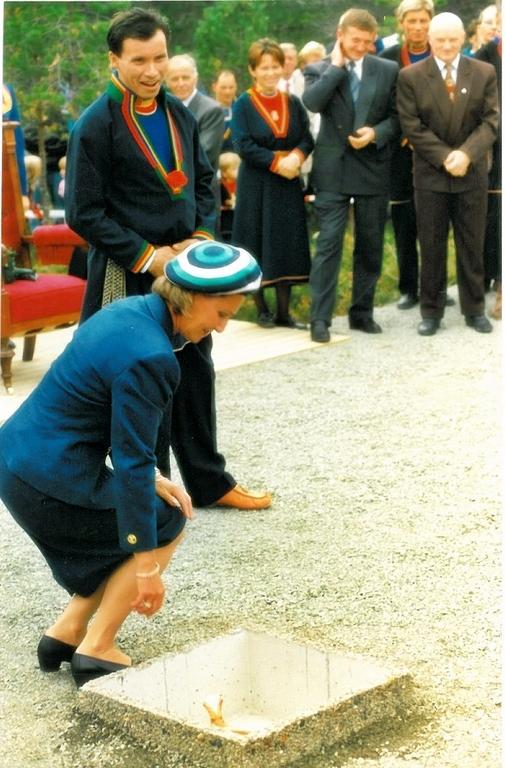 dronning på samisk