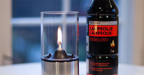 Lampeglass til parafinlampe