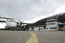 Sogndal lufthamn. Foto: Avinor