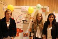 TF Temafester frå Lærdal vann i kategorien Formidling og kommunikasjon. Foto: Ungt Entreprenøskap