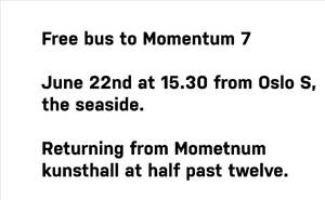 Gratisbuss til momentum english 72 2013