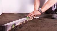 støpe gulv