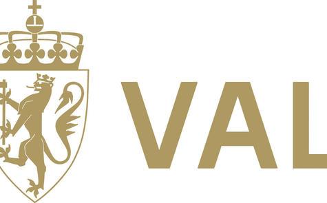 Valg logo gull