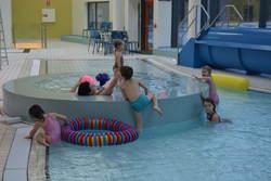 Bildet viser barnebassenget i folkebadet på Kippermoen