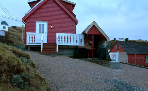 Kroken hytte. Foto: Jan Moldøen 2013.