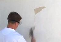 forbehandling før maling på mur
