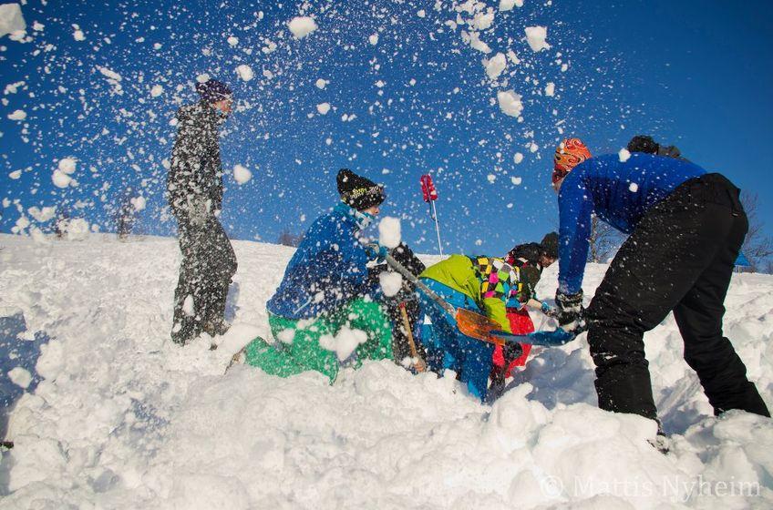 Topptur for ungdom - Foto Mattis Nyheim