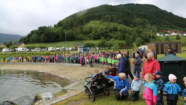 Opning Fjordstien og badelaguna juni 2014