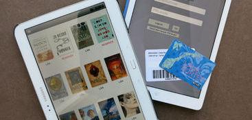 Lån e-bøker på biblioteket. Foto: Siv Hatlem