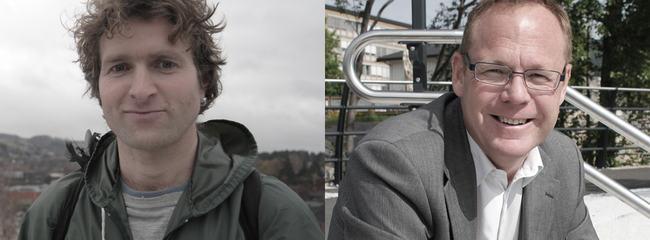 Thor Gotaas og Jørn Strand.