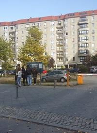 Hitler`s bunker site, Berlin