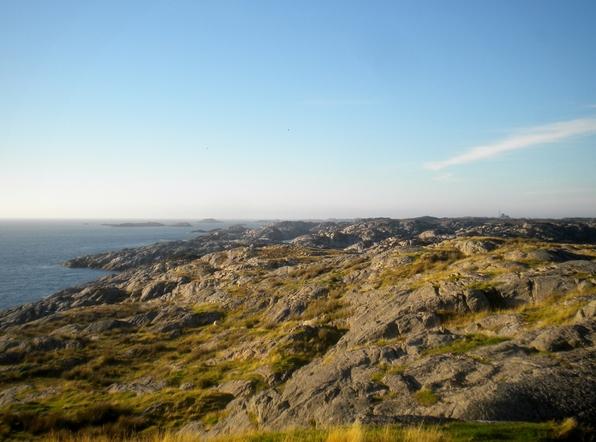 Nordsjøløypa - vestre Fedje frå sør mot nord -EVsommar14