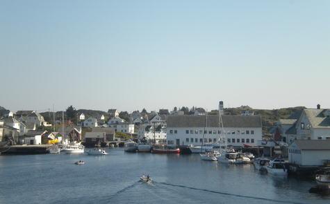 Fedje - landsbyen i havet - foto Even Vaular juli 2014