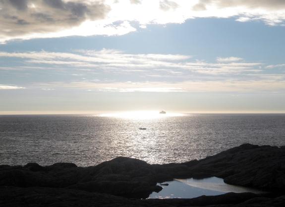 Aurihopen - utsikt mot storhavet -EVsommar2014