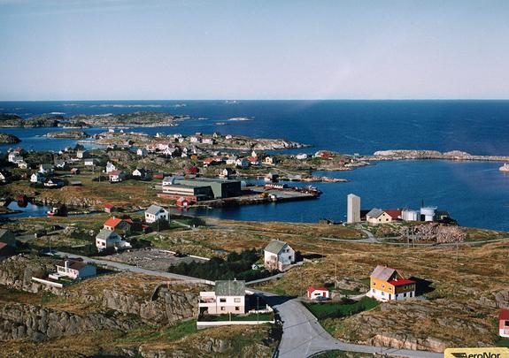 Flybilete - Husøyna, Rognsvågen og vidare nordover