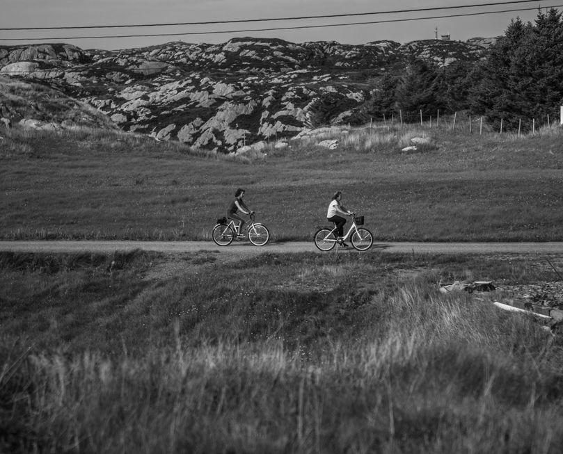 Syklande. Foto: Sara Godthelp Vågsmyr, 2014 (student v/ NKH)