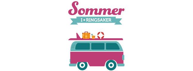 Sommer i Ringsaker logoelement.