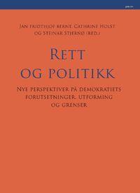 Festskrift til Rune Slagstad: Rett og politikk