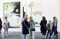 Installasjonsfoto fra Momentum kunsthall