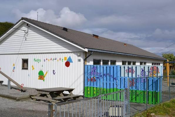 Barnehagen nydekorert etter foreldredugnad sommaren 2015