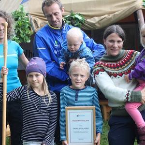 Æresvandrer 2015 - Norsk Vandrefestival