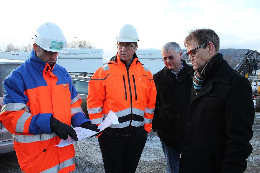 På Nederkvern i Brumunddal bygges innlandets største pumpestasjon.