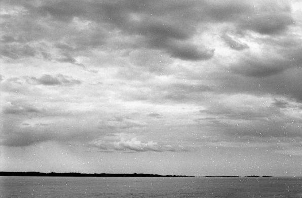 Fedje i horisonten.