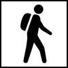 Logo vandrer