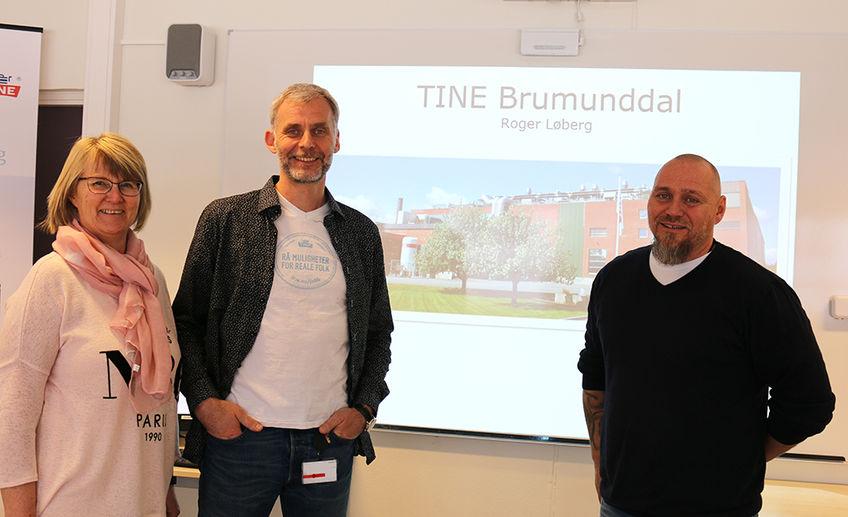 Tine, Grilstad og Nortura holdt presentasjon.