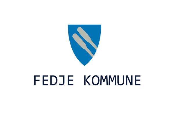 Kommunevåpen m-tekst blå
